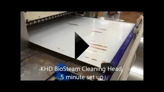 KHD Flat Belt System Chocolate Removal