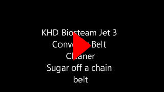 KHD Jet System Sugar off Metal Belt
